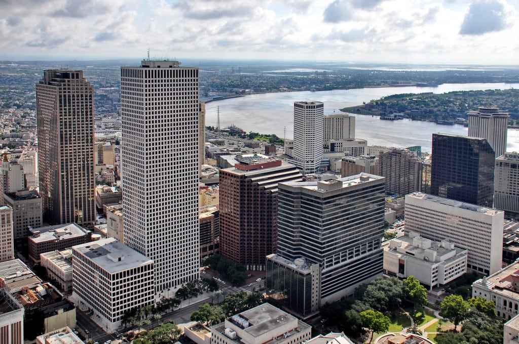 Stanwycks Photography, Aerial View of New Orleans CBD